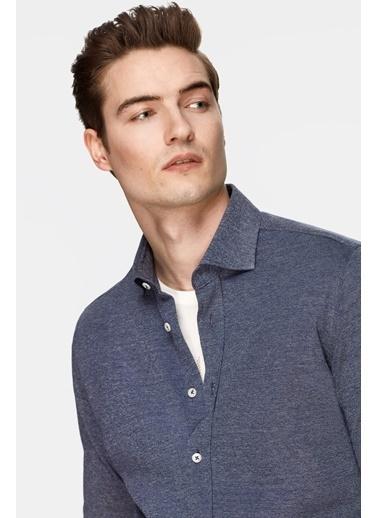 Damat Gömlek Lacivert